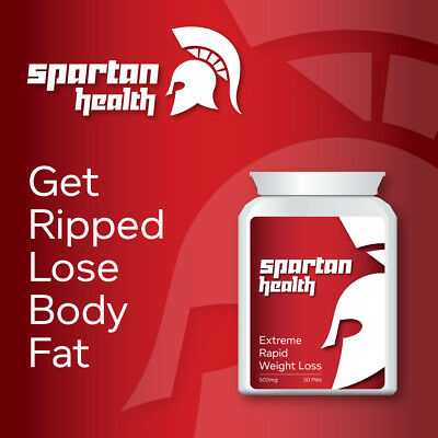 £19.99 • Buy Spartan Health Rapid Weight Loss Pill Tablets Max Power Muscle Definition