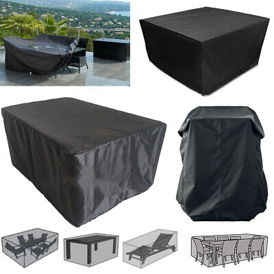 Outdoor Patio Garden Waterproof Furniture Set Table Chair Rattan Sofa Cover Cube • 11.22£