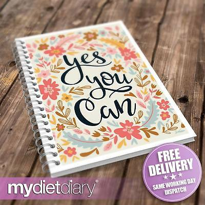 FOOD DIARY WEIGHT WATCHERS COMPATIBLE - Yes You Can (W034W) 12wk Journal Tracker • 5.95£
