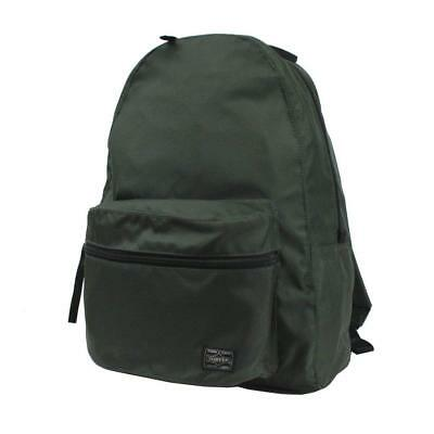 Yoshida Bag PORTER ROUND Backpack Daypack 808-06855 Green From Japan F S NEW 54f7146a3a0fc