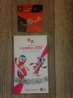 £199.99 • Buy Official London Olympic 2012 50p Coins Sports Collection Album With Completer
