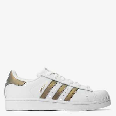 buy online d59f5 12254 Adidas Scarpe Sneakers Donna Superstar Bianco Oro D98001 • 69.96€