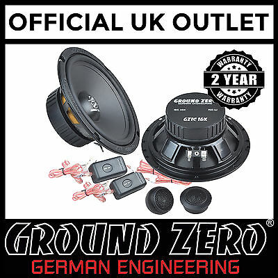Toyota Avensis 2005 On 300 Watts 6.5  2 Way Component Rear Car Speakers • 89.99£