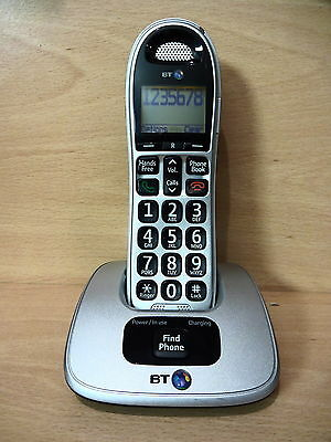 BT Big Button 4000 Single Cordless Telephone House Phone UB • 20.99£