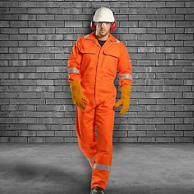 $81.33 • Buy Portwest UBIZ5 Bizweld Iona Protective FR Reflective Safety Coverall ASTM NFPA