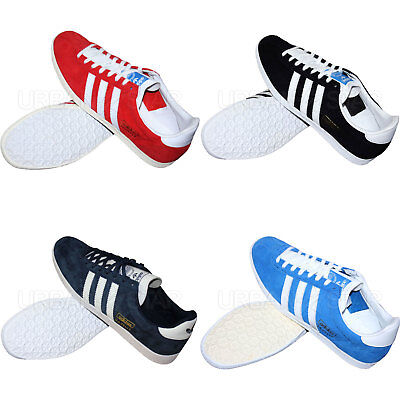 uk availability 52973 2fb5d Adidas Gazelle OG Trainers Retro Style Original Suede Leather Men s Shoes •  63.95€