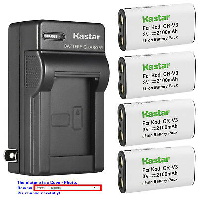 $22.99 • Buy Kastar Battery Wall Charger For Olympus LB-01 & D-575 D-580 D-595Z E10 E-100 RS