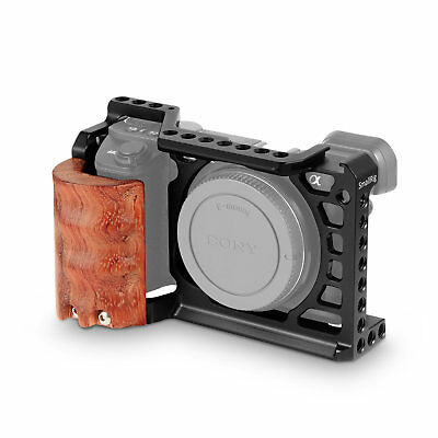 $ CDN72.49 • Buy SmallRig A6500 Camera Cage With Wooden Handgrip For Sony A6500 2097