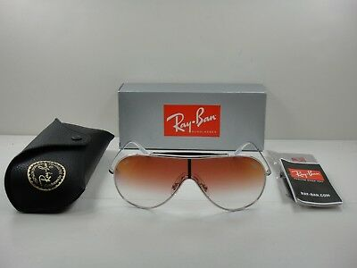 ed73ae26be Ray-ban Wings Sunglasses Rb3597 003 v0 Silver red Gradient Mirror Lens 33mm