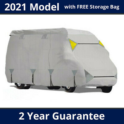Premium Motorhome Cover CLASS B RV | Up To 6m - 6.3m - 6x Zips, 4 Air Vents • 109£