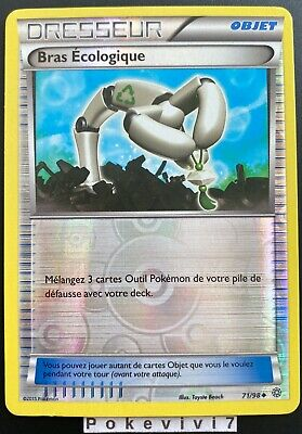Carte Pokemon BRAS ECOLOGIQUE 71/98 Reverse XY7 Origines Antiques FR • 1.69£