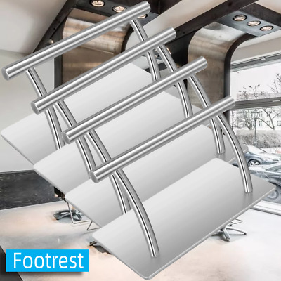 £14.99 • Buy Stainless Steel Foot Rest Salon Office Leg Up Footrest Relax Hair Chair Tattoo