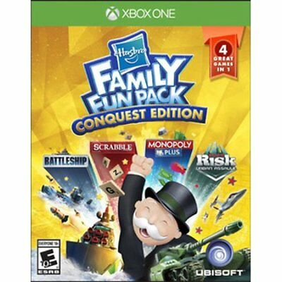 View Details Ubisoft Hasbro Family Fun Pack Conquest Edition Xbox One • 9.99$