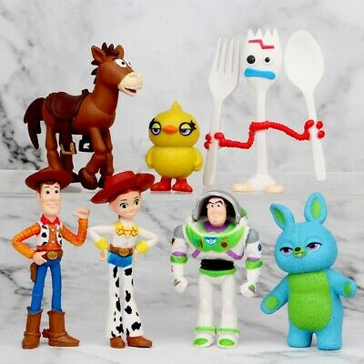 £9.99 • Buy Toy Story 3 Woody Jessie Buzz Lightyear Figure Toys Chrismas Gift Cake Toppers