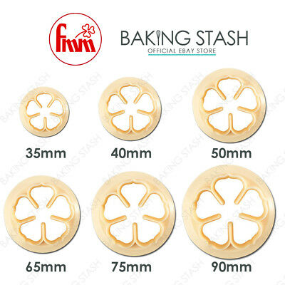 FMM 5 Petal Rose Cutter For Sugarcraft Flowers, Icing, Cake Decorating All Sizes • 3.89£