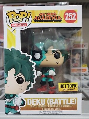 $35 • Buy Funko Pop My Hero Academia: Deku Battle #252. Hot Topic Ready To Ship Fast Free