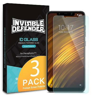 AU14.41 • Buy For Xiaomi Pocophone F1 | Ringke ID Tempered Glass Clear Screen Protector [3pcs]