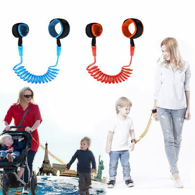 Anti Lost Band Safety Link Harness Toddler Child Kid Baby Wrist Strap Belt Reins • 3.49£