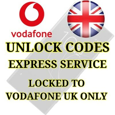 Nokia Lumia 515 520 525 535 550 625 635 640 735 925 Vodafone UK Unlock Code Fast • 2.49£