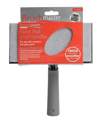 Brushmaster Premier Decorating Paint Pads And Multi-Position Handles (7  Or 9 ) • 8.99£