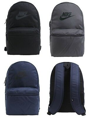 8ff9f180a1a Nike HERITAGE Backpack Bags Sports Black Navy Gray Unisex Casual Bag  BA5749-010 • 59.90