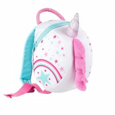 LittleLife Unicorn Toddler Backpack With Rein • 17.99£
