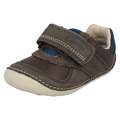 £26 • Buy Boys Clarks Casual First Cruiser Shoes Tiny Tay