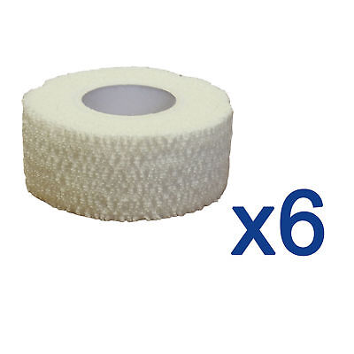 6x CMS Medical 2.5cm Sports Pro Strapping Tape Tearable Elastic Adhesive Bandage • 13.49£