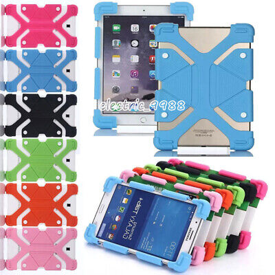AU15.99 • Buy Universal Shockproof Silicone Case For 7 -8  Inch Tablet PC Lenovo Samsung IPad