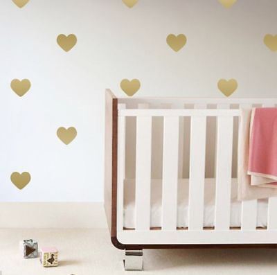 $ CDN5.04 • Buy Heart Shape Wall Stickers Decal Child Kids Vinyl Art Home Decor Love Shape