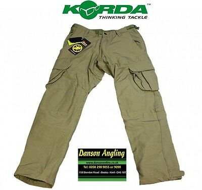 Korda Polar Kombat Trousers *NEW* Korda Thermal Combat Carp Fishing Clothing • 63.99£