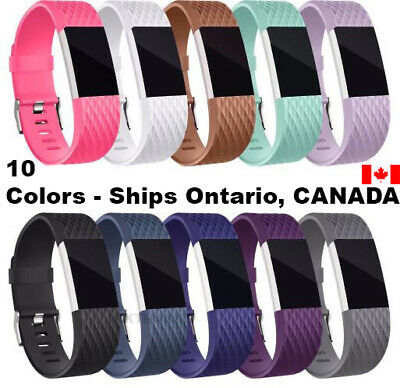 $ CDN5.95 • Buy For Fitbit Charge 2 Band Replacement Wristband Watch Strap Bracelet Small-Large
