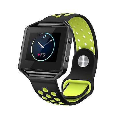 $ CDN9.06 • Buy SWEES Silicone Bands Compatible Fitbit Blaze Multiple Colors And Sizes