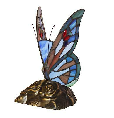 £47.23 • Buy Butterfly Tiffany Style Handmade Glass Table / Desk Lamps