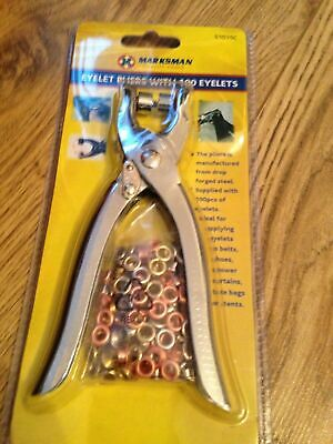 £4.99 • Buy EYELET TOOL KIT EYELET PLIERS WITH WITH EYELETS HOLE PUNCH COMPLETE KIT 51015c