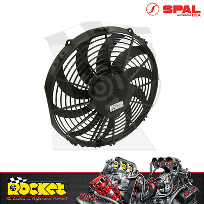 AU189.63 • Buy Spal 9 Electric Curved Blades Puller Type Thermo Fan 647CFM - SPEF3526