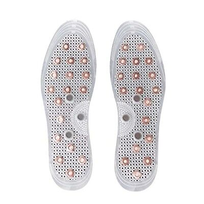 $ CDN10.55 • Buy MindInSole Acupressure Copper Magnetic Massage Shoe Insoles Foot Therapy