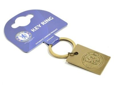 £5.45 • Buy Chelsea Football Club Official Metal Vintage Crest Key Ring Chain Badge