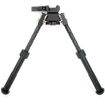 Tactical 6.5 - 9 Inch Bipod Adjustable Pan Tilt Hunting Atlas Bipod Clone+Spike • 32.89$