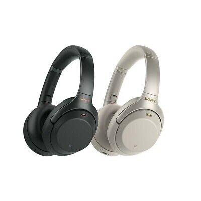 AU366 • Buy Sony WH-1000XM3 Wireless Noise Cancelling Headphones - Black | Silver