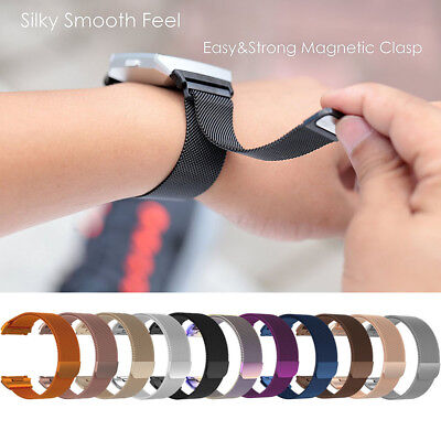 $ CDN7.90 • Buy S/L For Fitbit Ionic Replacement 316L Milanese Magnetic Loop Bracelet Wrist Band