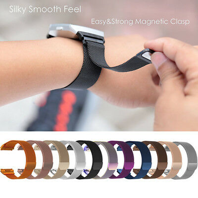$ CDN7.25 • Buy S/L For Fitbit Ionic Replacement 316L Milanese Magnetic Loop Bracelet Wrist Band