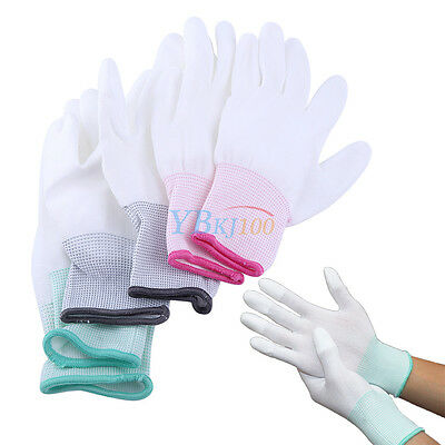 Anti Static Antiskid Gloves PC Computer Repair ESD Electronic Labor Worker SSP • 1.67$