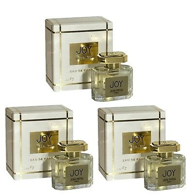 Miniature Jean Patou Joy 5ml EDP X3 Women Perfume • 36.99£