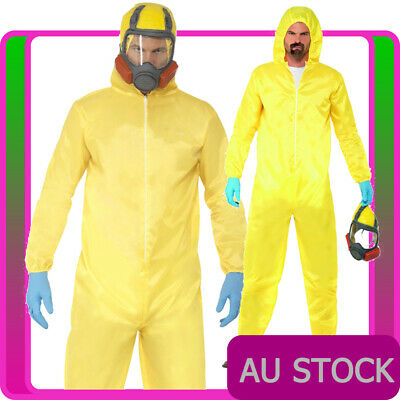 Yellow Hazmat Suit