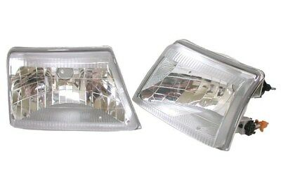 $74.98 • Buy Fit 98-00 Ford Ranger Crystal Clear Head Lights Assembly By DEPO PAIR NIB