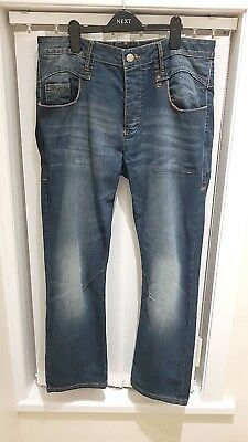 Mens Ringspun Blue Jeans From DebenhamsW34/L32 • 15£