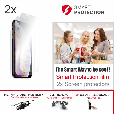 AU14.36 • Buy 2x IPhone Xs MAX Ultra Smart Screen Protector Glass And Film Wet Installation