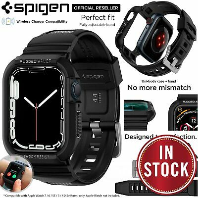 AU39.99 • Buy For Apple Watch Series 6 SE 5 4 40/44mm Case SPIGEN Rugged Armor Pro Band Cover