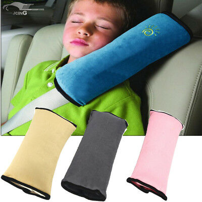 £3.29 • Buy Kids Car Safety Seat Belt Covers Pad Strap Harness Shoulder Sleep Pillow Cushion
